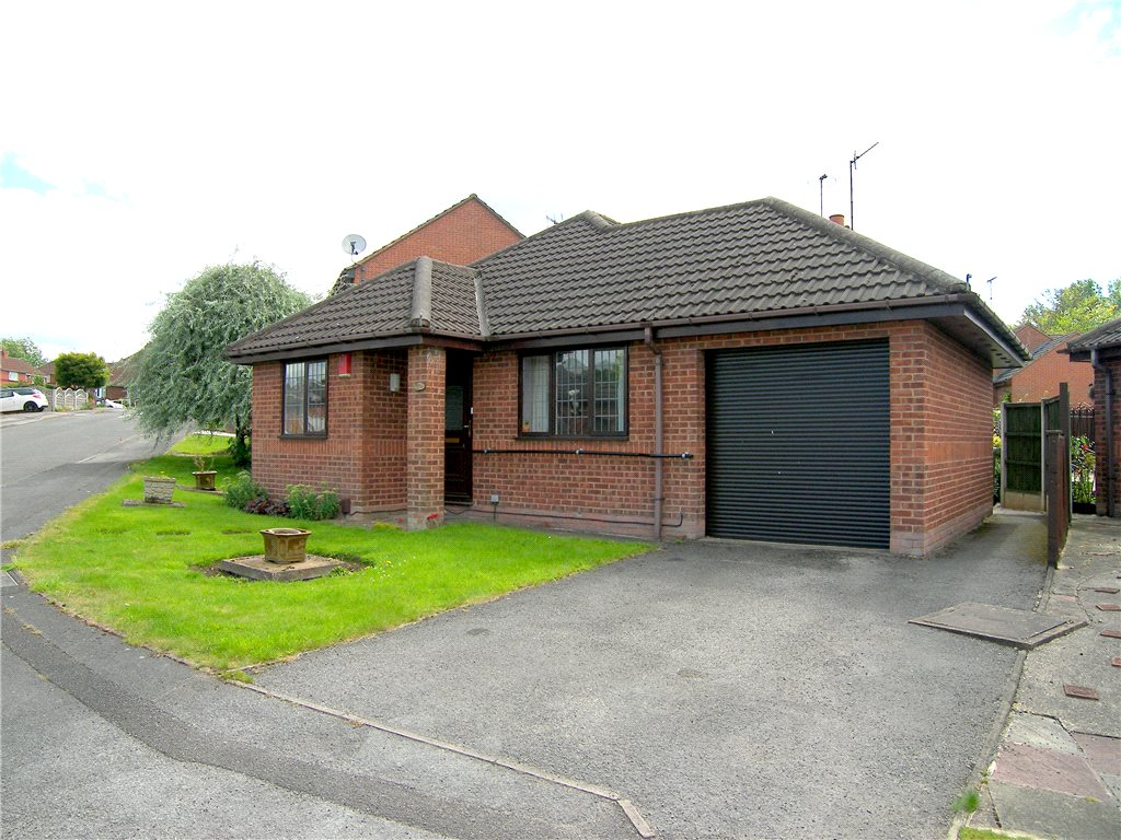 2 Bedrooms Detached Bungalow for sale in Westfield Drive, Blackwell, Alfreton, Derbyshire, DE55