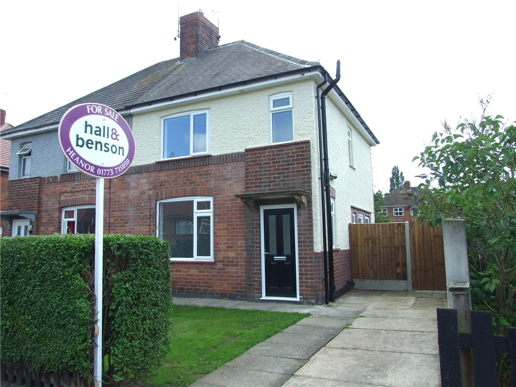 3 Bedrooms Semi Detached House for sale in Newlands Drive, Heanor, Derbyshire, DE75