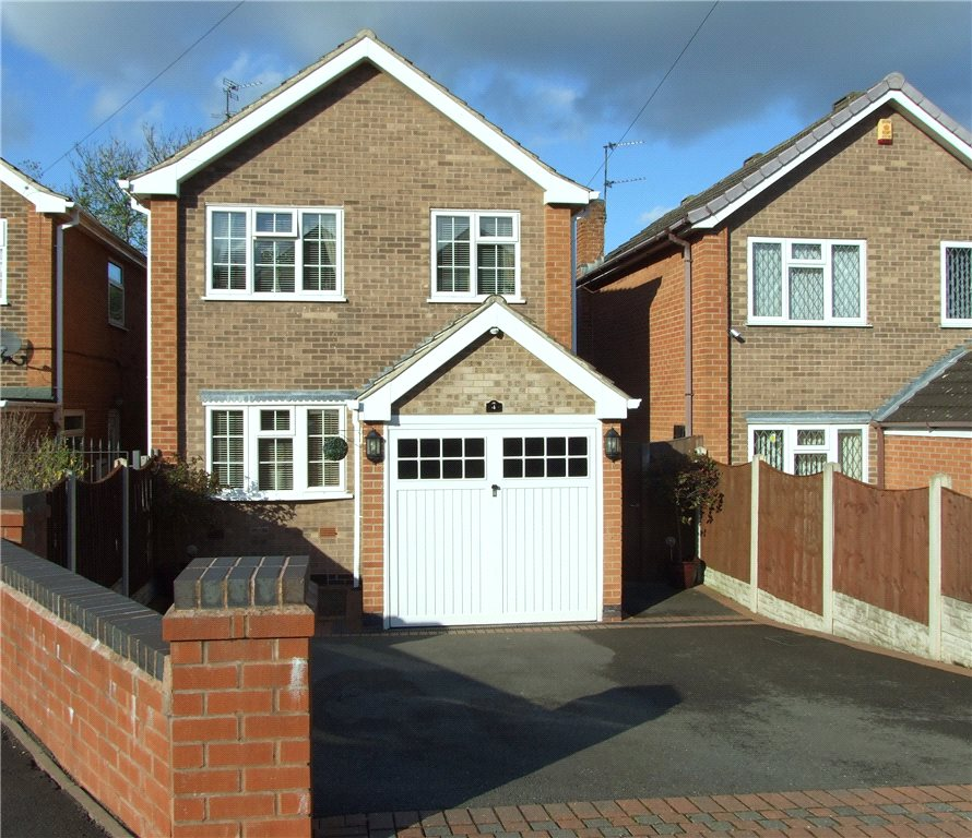 3 Bedrooms Detached House for sale in Bassford Avenue, Heanor, Derbyshire, DE75