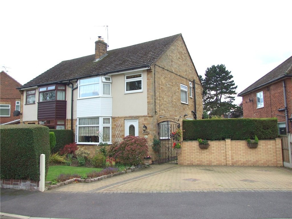 3 Bedrooms Semi Detached House for sale in Manor Park, Borrowash, Derby, Derbyshire, DE72
