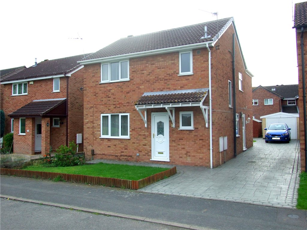 4 Bedrooms Detached House for sale in Hobkirk Drive, Sinfin, Derby, Derbyshire, DE24