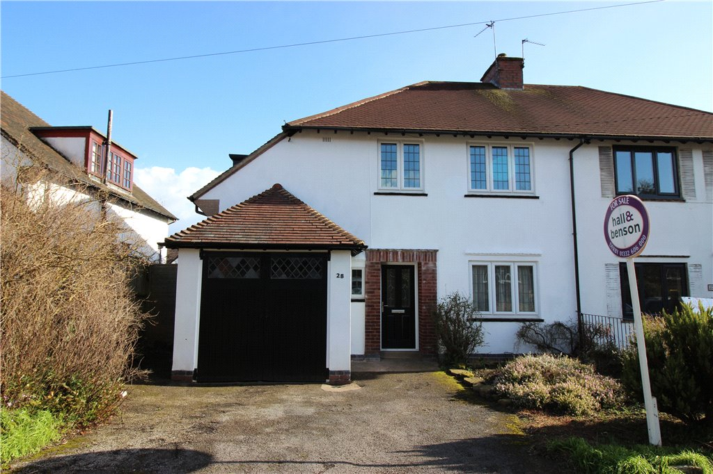 4 Bedrooms Semi Detached House for sale in Arlington Road, Derby, Derbyshire, DE23