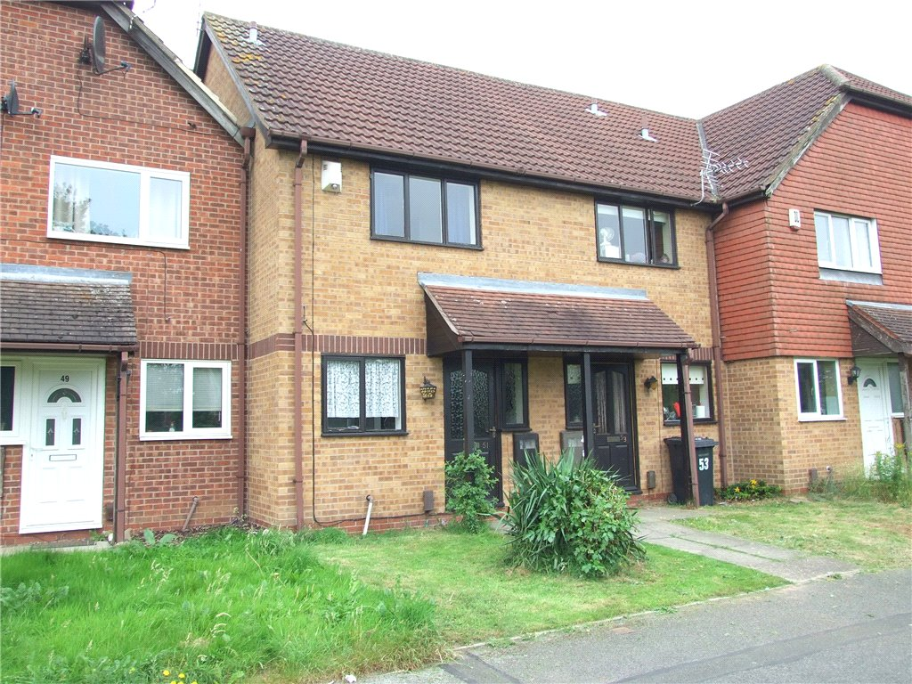 2 Bedrooms Terraced House for sale in Saffron Drive, Oakwood, Derby, Derbyshire, DE21