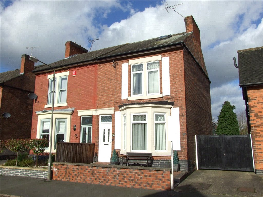 4 Bedrooms Semi Detached House for sale in Manor Road, Borrowash, Derby, Derbyshire, DE72