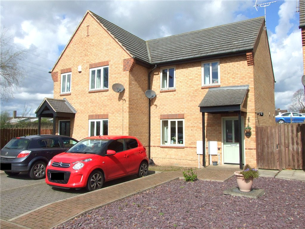 2 Bedrooms Semi Detached House for sale in Rovings Drive, Spondon, Derbyshire, DE21
