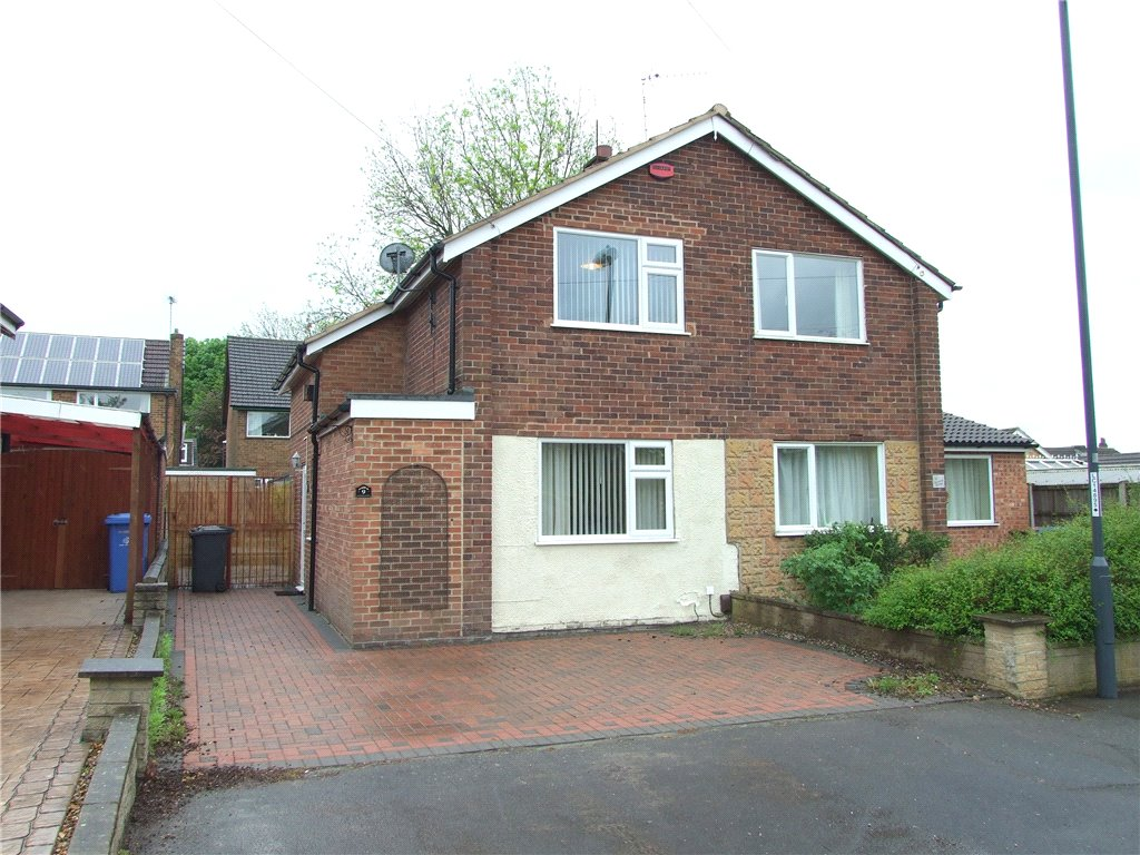 2 Bedrooms Semi Detached House for sale in Gerard Close, Spondon, Derby, Derbyshire, DE21