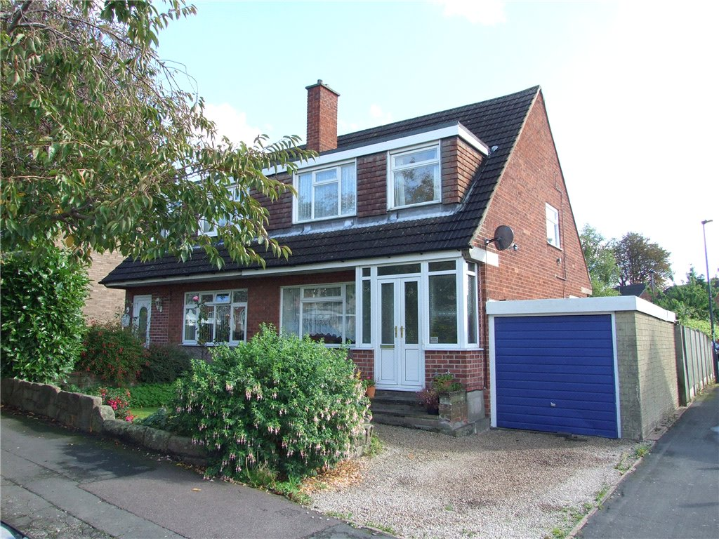 3 Bedrooms Semi Detached House for sale in Priestland Avenue, Spondon, Derby, Derbyshire, DE21