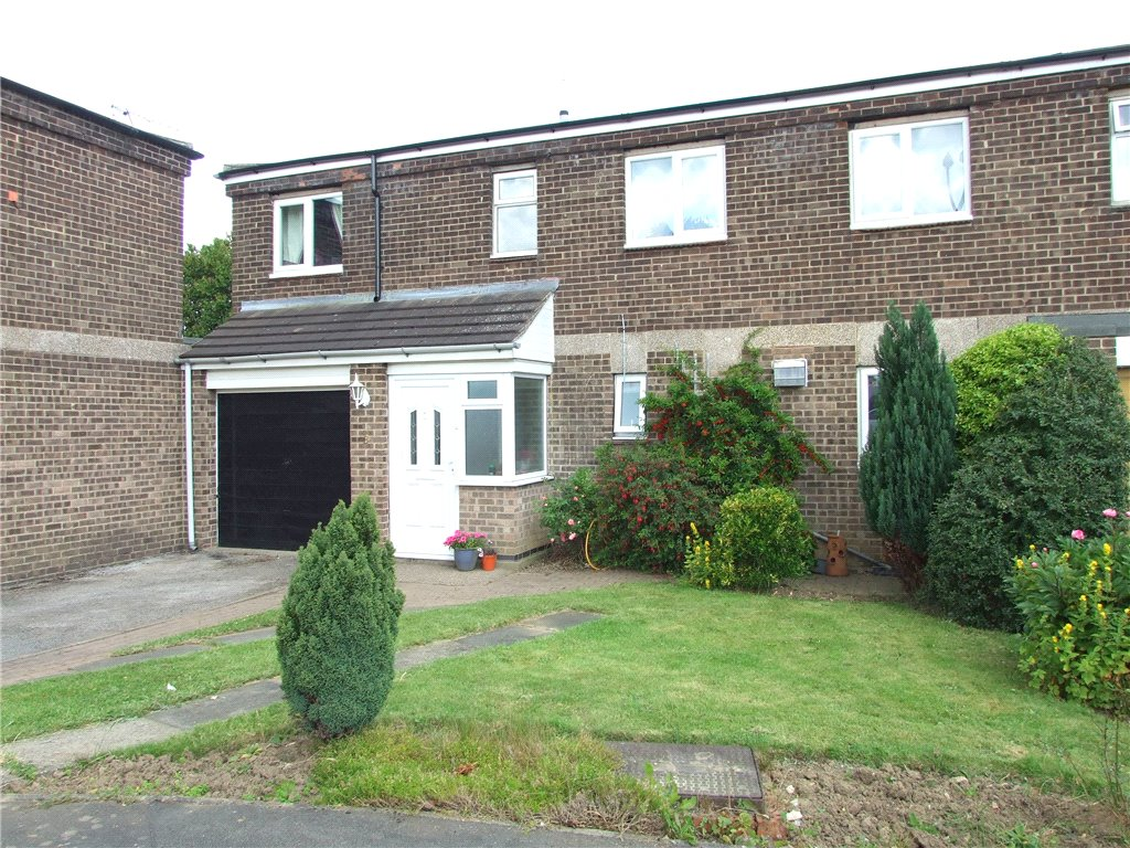 3 Bedrooms Town House for sale in Harlech Close, Spondon, Derby, Derbyshire, DE21