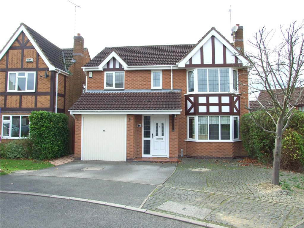 4 Bedrooms Detached House for sale in Kershope Drive, Oakwood, Derby, Derbyshire, DE21