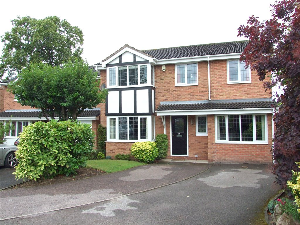 5 Bedrooms Detached House for sale in The Spinney, Borrowash, Derby, Derbyshire, DE72