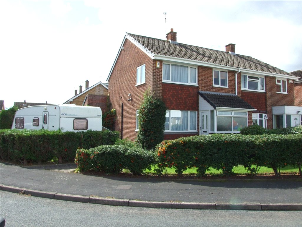 3 Bedrooms Semi Detached House for sale in Heronswood Drive, Spondon, Derby, Derbyshire, DE21