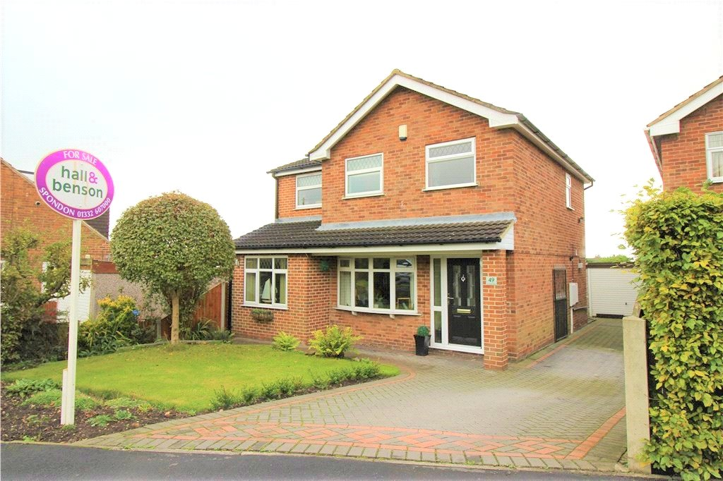 4 Bedrooms Detached House for sale in Arundel Drive, Spondon, Derby, Derbyshire, DE21