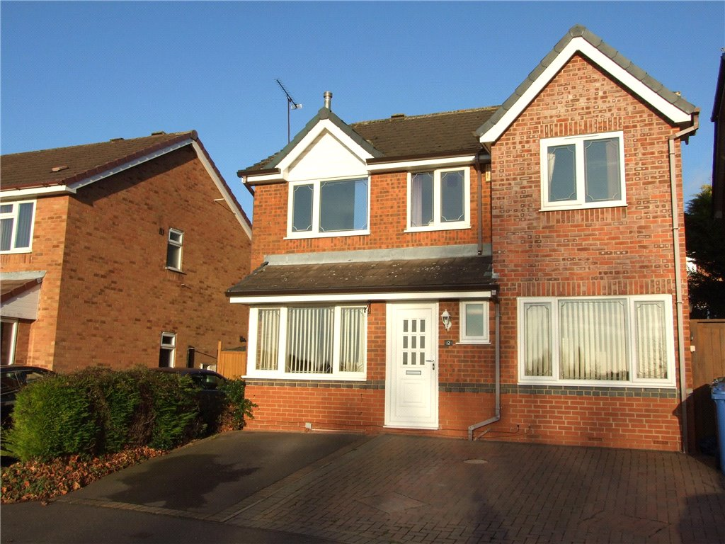 4 Bedrooms Detached House for sale in Alsager Close, Oakwood, Derby, Derbyshire, DE21