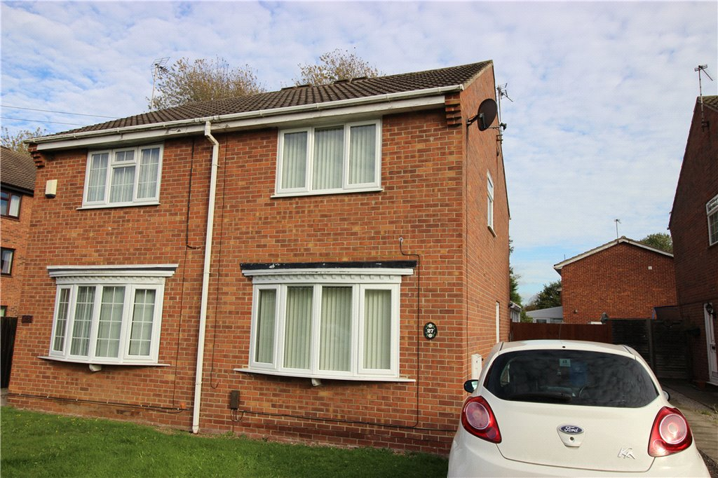 2 Bedrooms Semi Detached House for sale in Mondello Drive, Alvaston, Derby, Derbyshire, DE24