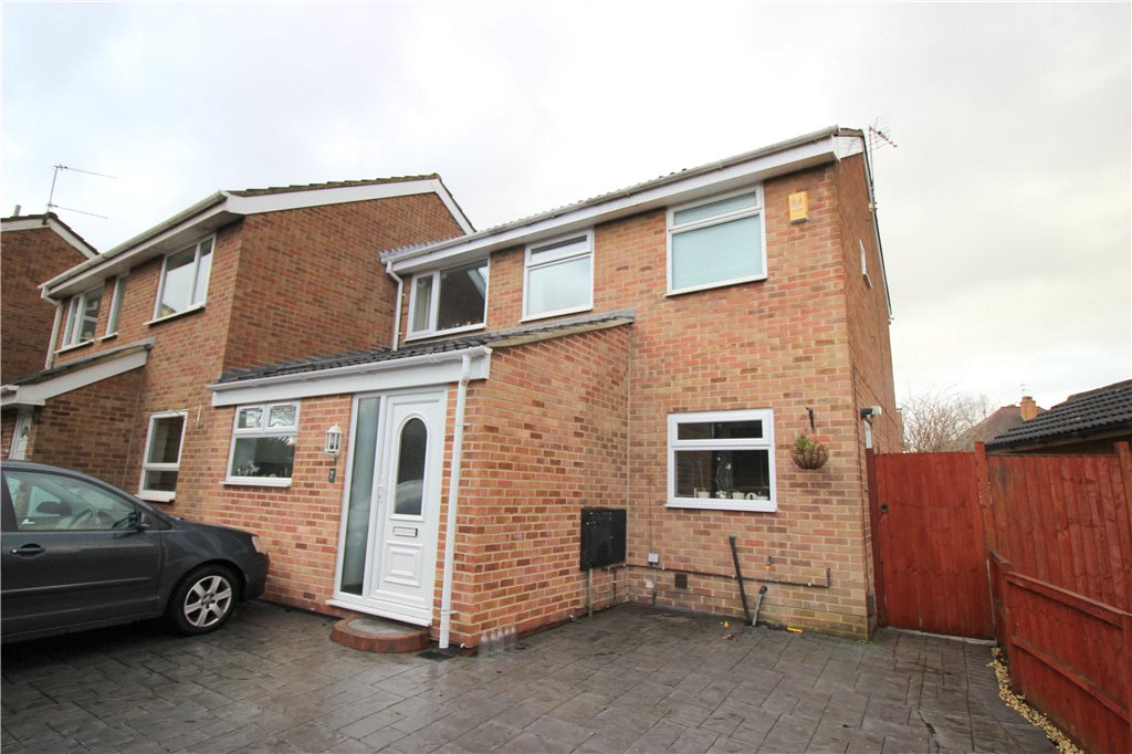 3 Bedrooms Semi Detached House for sale in Bridle Close, Chellaston, Derby, Derbyshire, DE73
